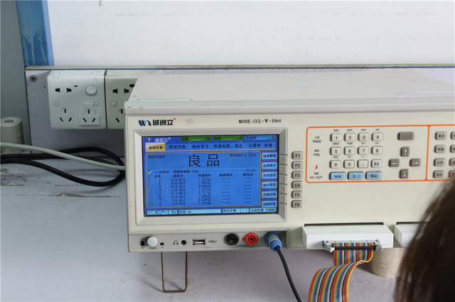Testing Machine of Reunion Connectors