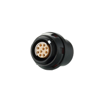Push Pull Electronic low voltage Connector Socket with Half Round Insulator
