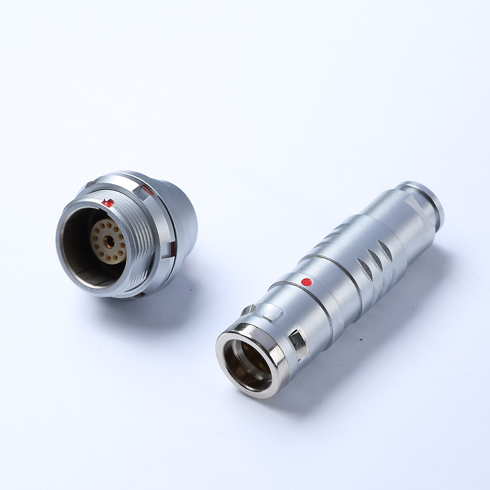 PGG.2K305.CPAC.52L - IP67 Waterproof Industrial Push-pull Signal And Power Solution Metal Connector