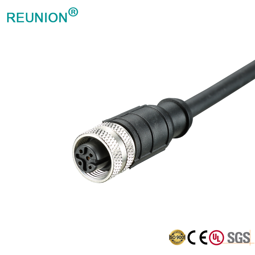 REUNION M12 Series - IP67 M12 X-Coding Waterproof Connector