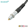 REUNION 2B series 2+4 Pins custom coaxial connector cable assembly