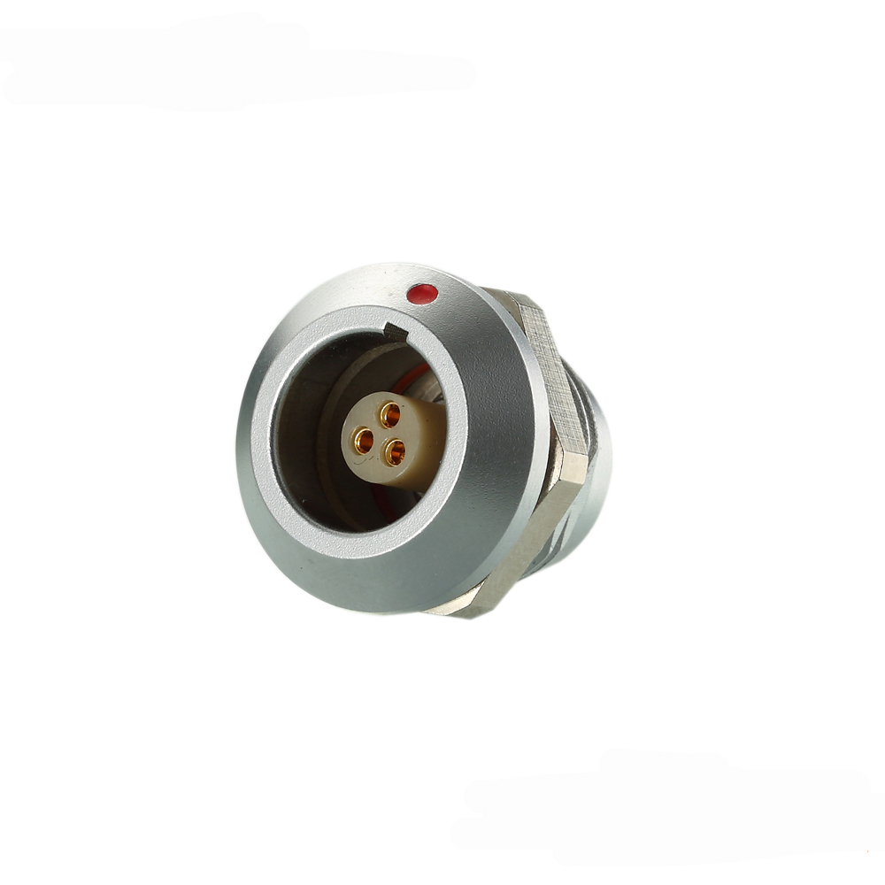 SGG.0K306.CPL - Female Electrical Wire Connector, IP67 2 3 4 5 6 7 8 10 12 pin Waterproof Connector