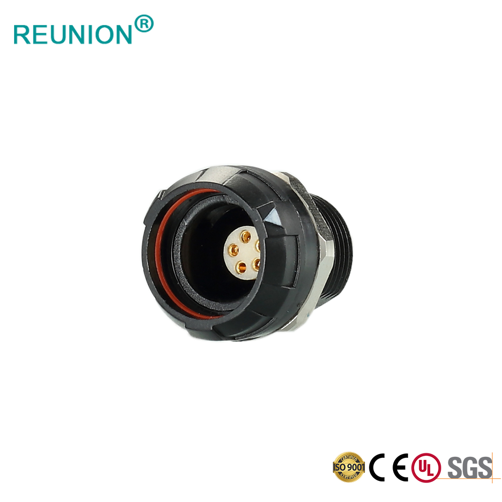 OEM Manufacturer Customized Cable Assembly P Series Push-Pull Connectors Wire To Wire
