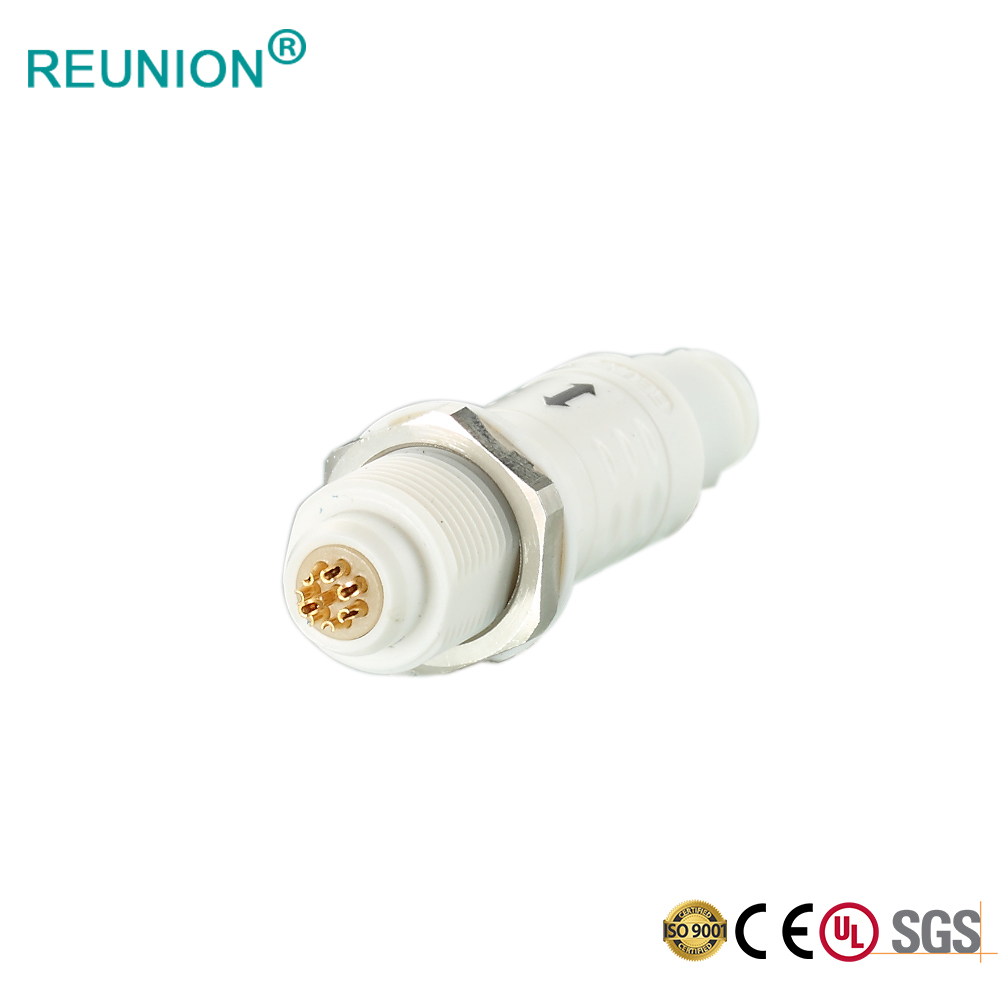 Cheap price P series plastic push-pull circular connector 14pins