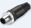 REUNION M5 Series-China manufacture High quality small sensor 3 pin power m8 shielding straight connector