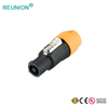 Shenzhen manufacturer offer 250V 30A AC Power Connector NAC3FCA IP67 Waterproof Outdoor adapter