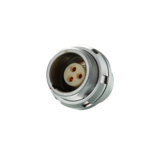 SEG.1K302.CPL - K Series Female Socket Push Pull Self-locking Electrical Receptacle
