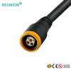 REUNION factory offer Plastic 2P series10pins electrical connectors straight plug solder pins wire cable assembly