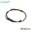 1M Series 7Pins Plastic Power Connector with Custom Cable Assembly