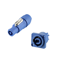 Powercon Connector Plastic 3 Pole Male Plug Female Terminal Type Power Supply Connectors