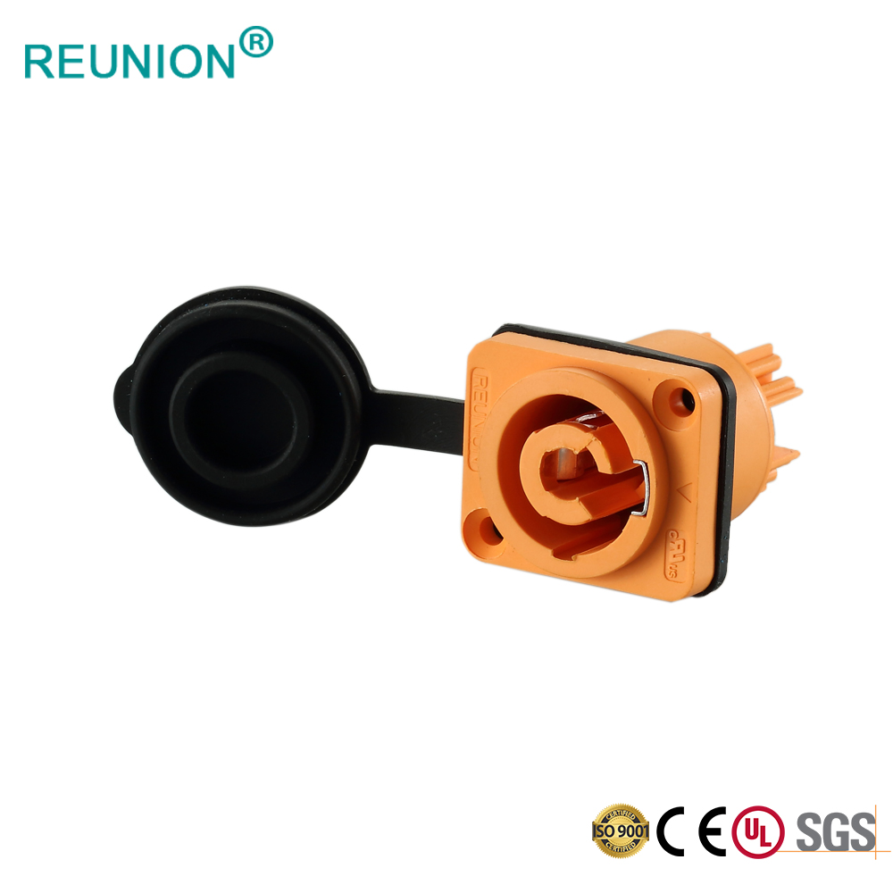 LED Electrical Plug and Socket Powercon Connector in Shenhen Manufacturer
