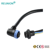 LED lighting connectors hybrid pins power and signal adapter wiring cable assembly