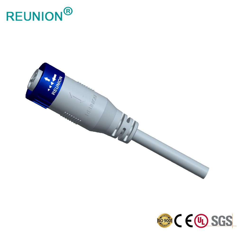 Professional Connectors supply outdoor LED lighting connector and cable assembly