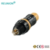 3 Pin Waterproof Quick Connectors Medical Hybrid Power and Signal Connector