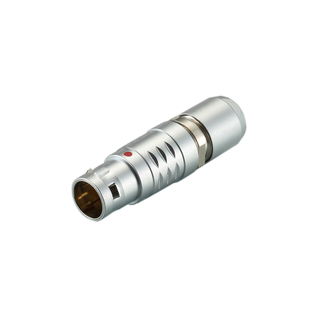 Custom Coaxial Medical Cable Assembly Connector B Series Push-Pull Connectors