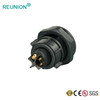 IP67 Outdoor Waterproof Connectors M Series 2+4 Hybrid Pins Power And Signal Connector