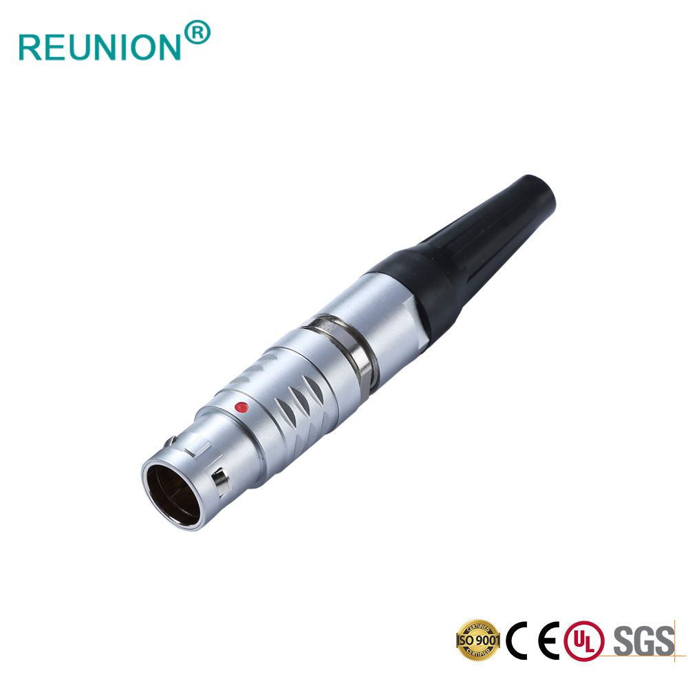 Hot sell Reunion 2B series metal push-pull connector for Industrial/Medical/Test/Surveying