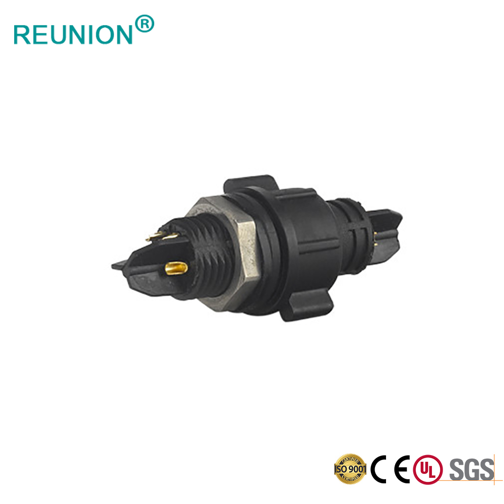 REUNION Connector Screw Wire Cable Electrical Circular Power IP68 Waterproof Connectors