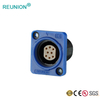 Indoor LED Screen Non-waterproof 8Pins Data Connector Assembly Female Socket & RJ45 Interface
