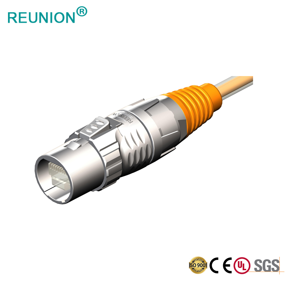 2020 New Design Waterproof RJ45 Signal Connector with Low Price