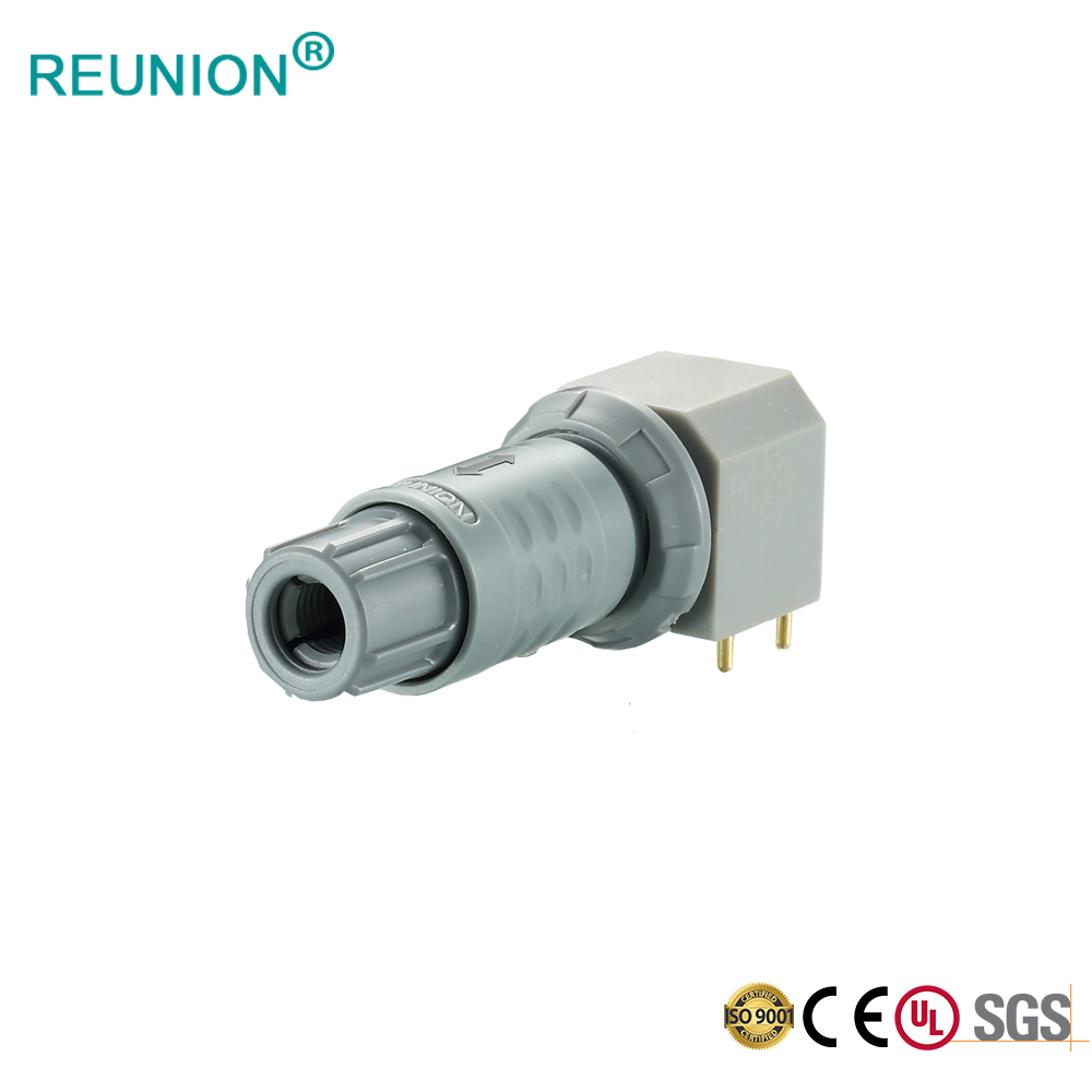 Plastic Redel Connector Medical Cable Assembly PCB Female Socket for Medical Devices