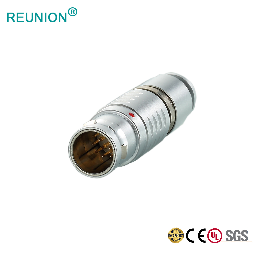 Multipole Brass Material Metal Circular GPS Surveying Systems Quick Connector