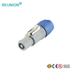 Power supply 3pole male female connector for led display/led lighting