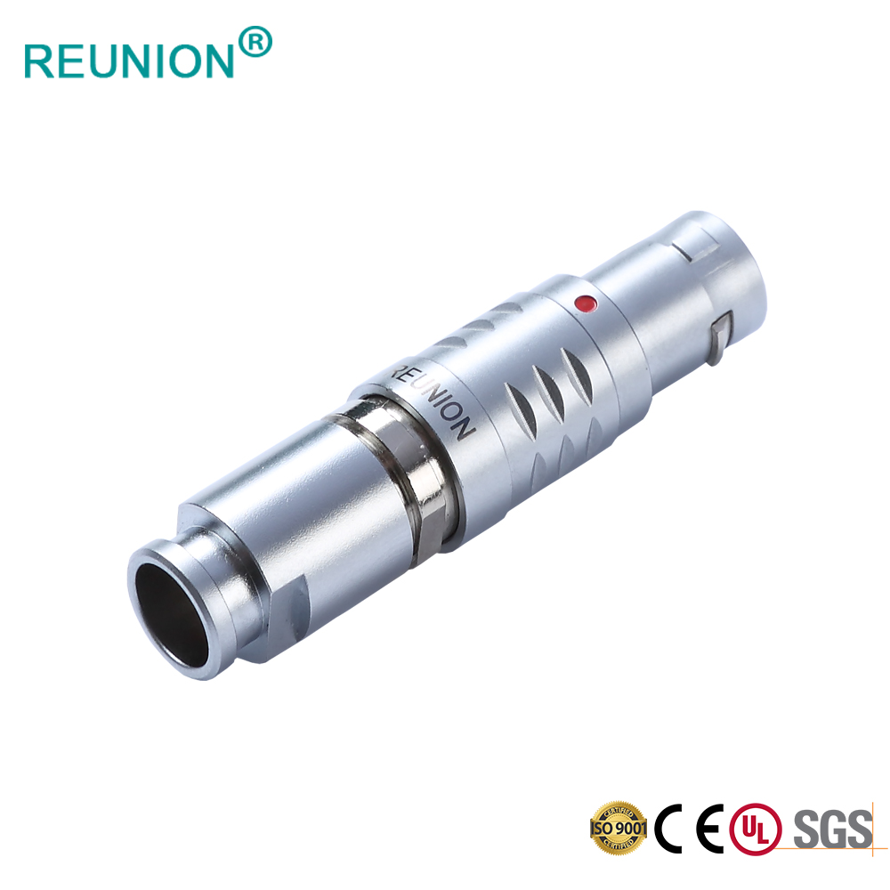 REUNION B Series High Quality Metal Medical Circular Connectors for Medical/Energy/Measuring